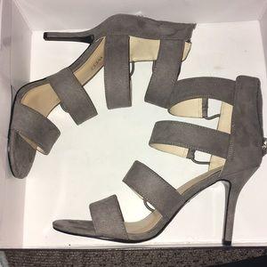 6.5 Nine West Grey heels
